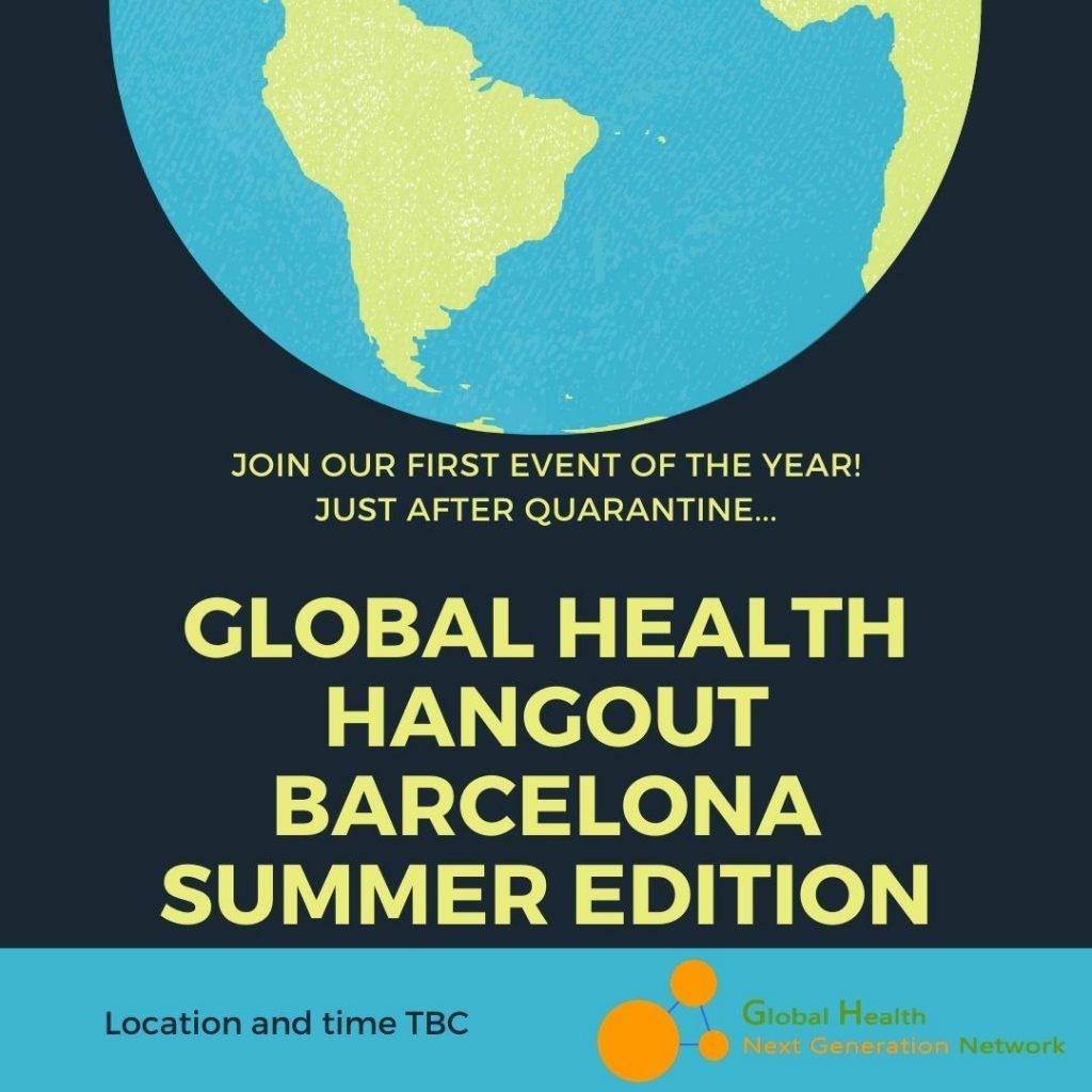Global Health Hangout Barcelona Summer Edition